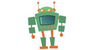 Xmas 2017 robot canva